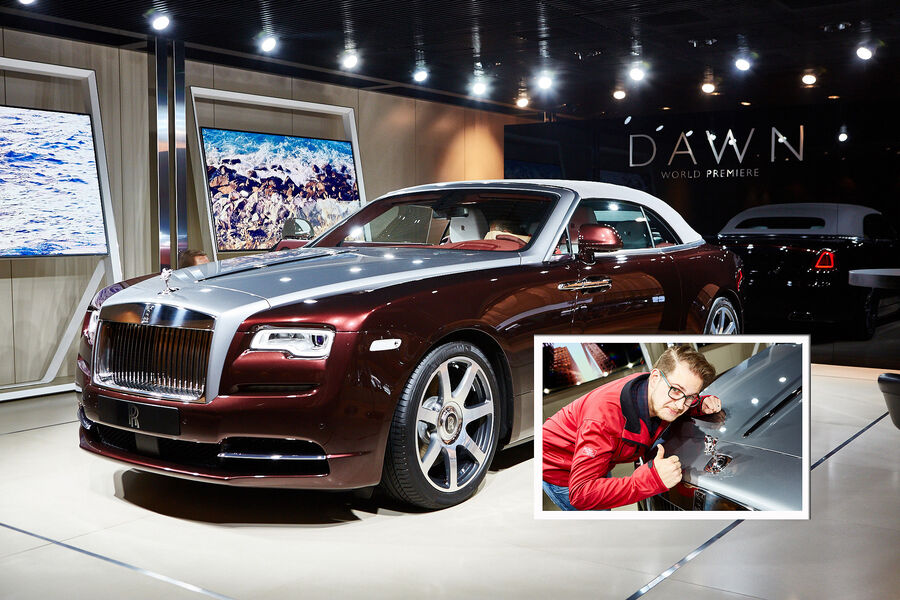 rolls royce dawn auf der iaa geistreicher genuss ohne. Black Bedroom Furniture Sets. Home Design Ideas
