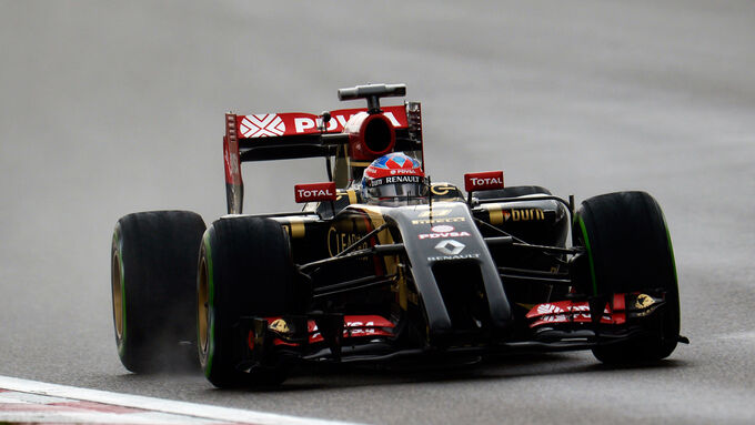 Grosjean erstmals in Top Ten