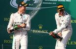 Rosberg  Hamilton - Formel 1 - GP Australien 2015