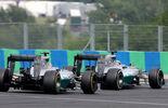 Rosberg Hamilton - Formel 1 - GP Ungarn - 27. Juli 2014