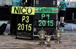 Rosberg Hamilton - GP Bahrain 2015