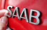 Saab Logo Schriftzug