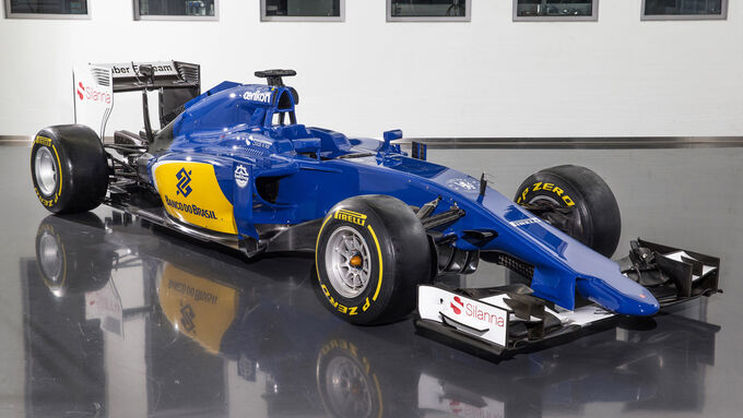 sauber c34 f r 2015 im f1 technik check auto motor und sport. Black Bedroom Furniture Sets. Home Design Ideas
