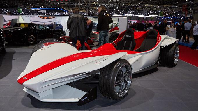 Sbarro Triple Concept - Genfer Autosalon 2015