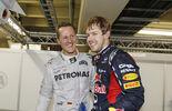 Schumacher Vettel - GP Singapur 2014