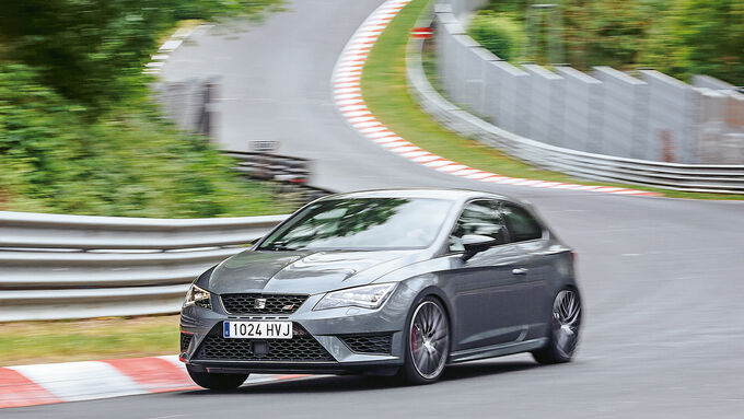 Seat Leon Cupra 280 Performance Pack, side view