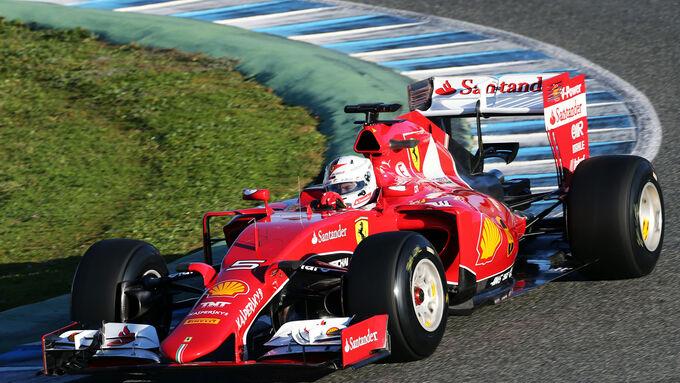 F1 Jerez Test 2015 (Ergebnis)