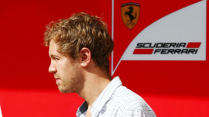 Sebastian Vettel - Ferrari - Formula 1 Test - Abu Dhabi - 25 November 2014