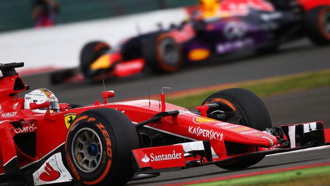 Reifen-Poker bei Ferrari