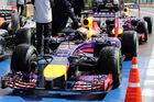 Red Bull setzt voll auf Trockensetup