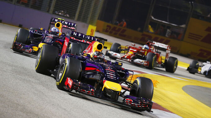 Endlich vor Ricciardo