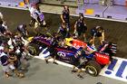 Alonso-Bestzeit und Vettel-Technikpech
