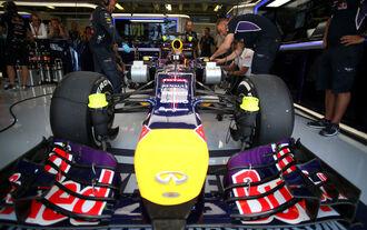 Vettel mit letztem Motor