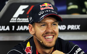 Sebastian Vettel - Red Bull - Formel 1 - GP Japan - 10. Oktober 2013