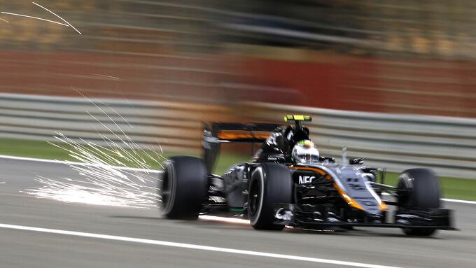 Force India verbessert