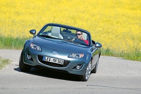 Serienfahrzeuge Cabrios bis 40 000 € - Mazda MX-5 2.0 MZR