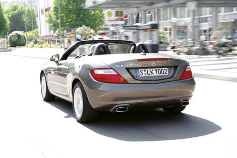 Serienfahrzeuge Cabrios bis 40 000 € - Mercedes SLK 200