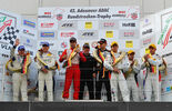 Siegerehrung VLN Langstreckenmeisterschaft Nürburgring, 3.Rennen, 14-05-2011