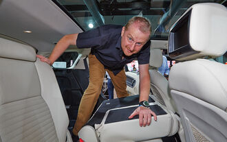 Sitzprobe Land Rover Discovery Sport