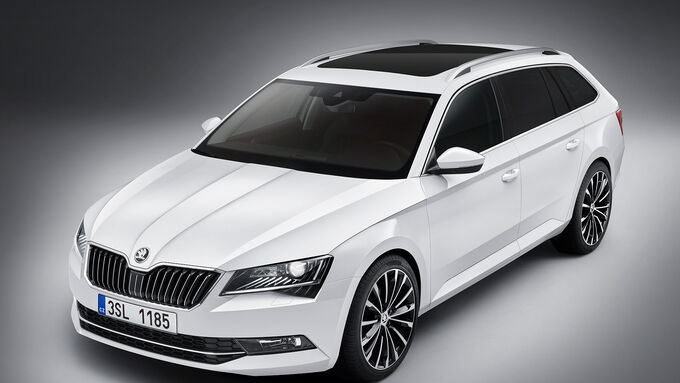 Skoda Superb Combi Sperrfrist 26.5.