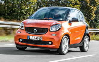 Smart Fortwo, Front view