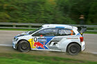 Mitfahrt im VW Polo WRC