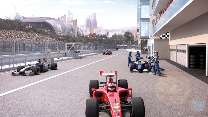 Strecke Baku - GP Aserbaidschan 2016