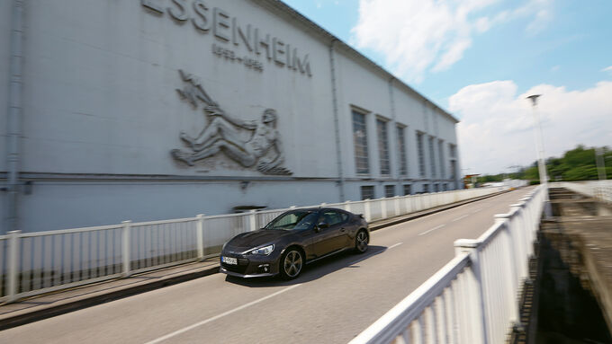 Subaru BRZ, Fessenheim, Frankreich