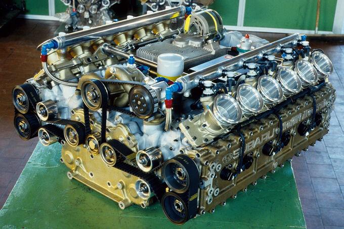 Subaru Flat 12 Engine
