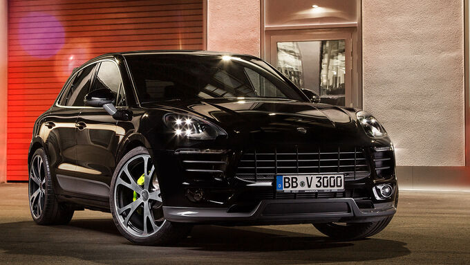 techart porsche macan bis zu 450 ps in scharfer optik. Black Bedroom Furniture Sets. Home Design Ideas