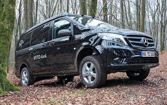 Terracamper Mercedes Vito Tecamp 4x4