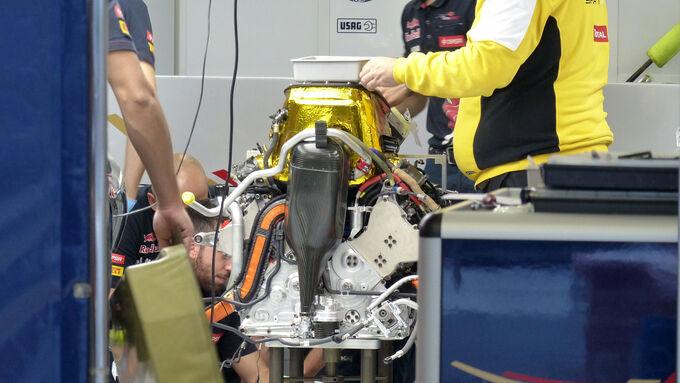Nur 2015er Motoren von Ferrari