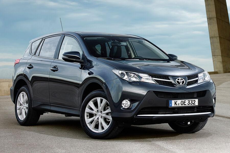 Toyota Rav4 Update Neue Allradvariante Im Angebot Auto