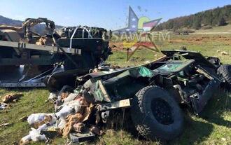 US Army Humvee, Fail, 04/2016