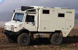 Unimog U 1550L Langer + Bock Wohnkabine Expeditionsmobil