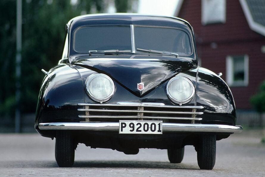 1947 Saab Ursaab. Ur-Saab von 1947.