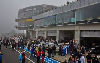 VLN 8 Nebel - VLN Nürburgring - 8. Lauf - 13. September 2014