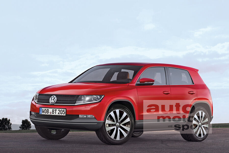 Next Gen VW Tiguan: Renders, Spy Pics, Speculation