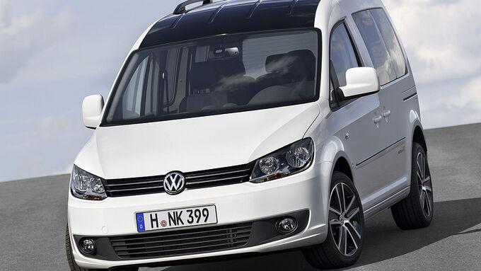 VW Caddy Edition 30 auf der IAA: Sondermodell zum Jubiläum - AUTO