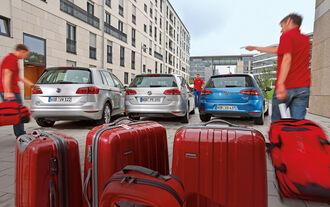 VW Golf 2.0 TDI, VW Golf 2.0 TDI Sportsvan, VW Golf 2.0 TDI Variant, Heck
