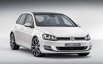 VW Golf Edition 40 Jahre China