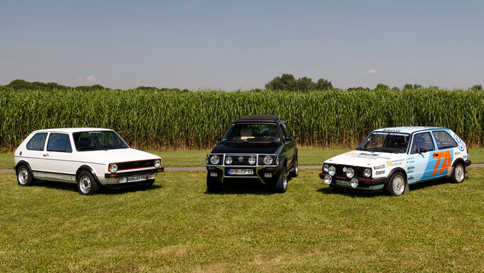 VW Golf I / Golf II, Modelle