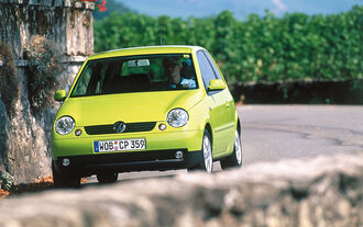 VW Lupo, Frontansicht
