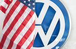 VW, USA-Flagge
