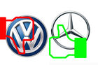 VW down, MB up