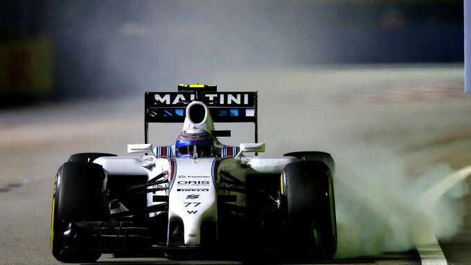 Massa 38 Runden ohne Stopp
