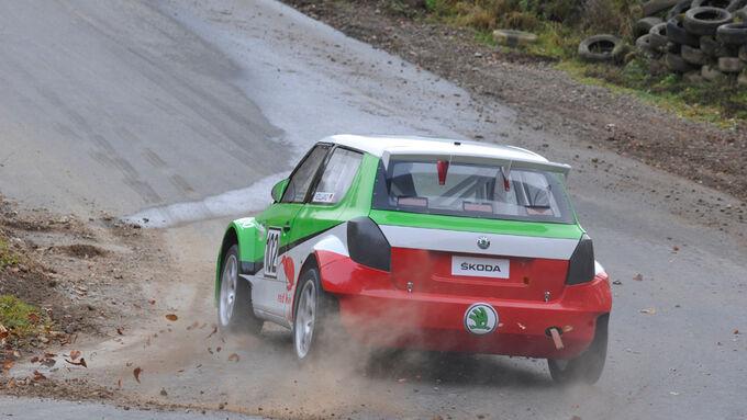 Volland-Skoda Fabia S 1600 Rallycross