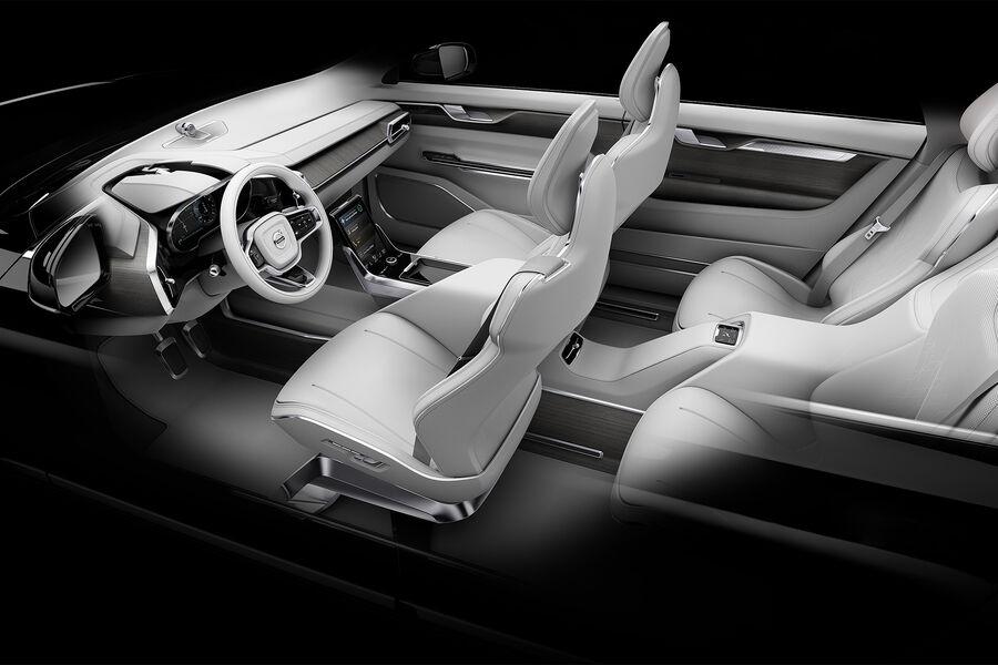 volvo concept 26 innenraum der zukunft auto motor und sport. Black Bedroom Furniture Sets. Home Design Ideas