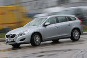 Volvo V60 D6 AWD, Seitenansicht