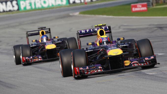 Webber GP Malaysia 2013